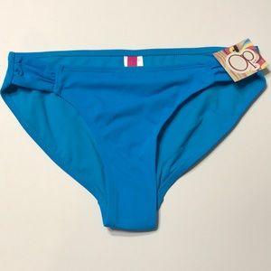OP Blue Bikini Bottoms M 7-9